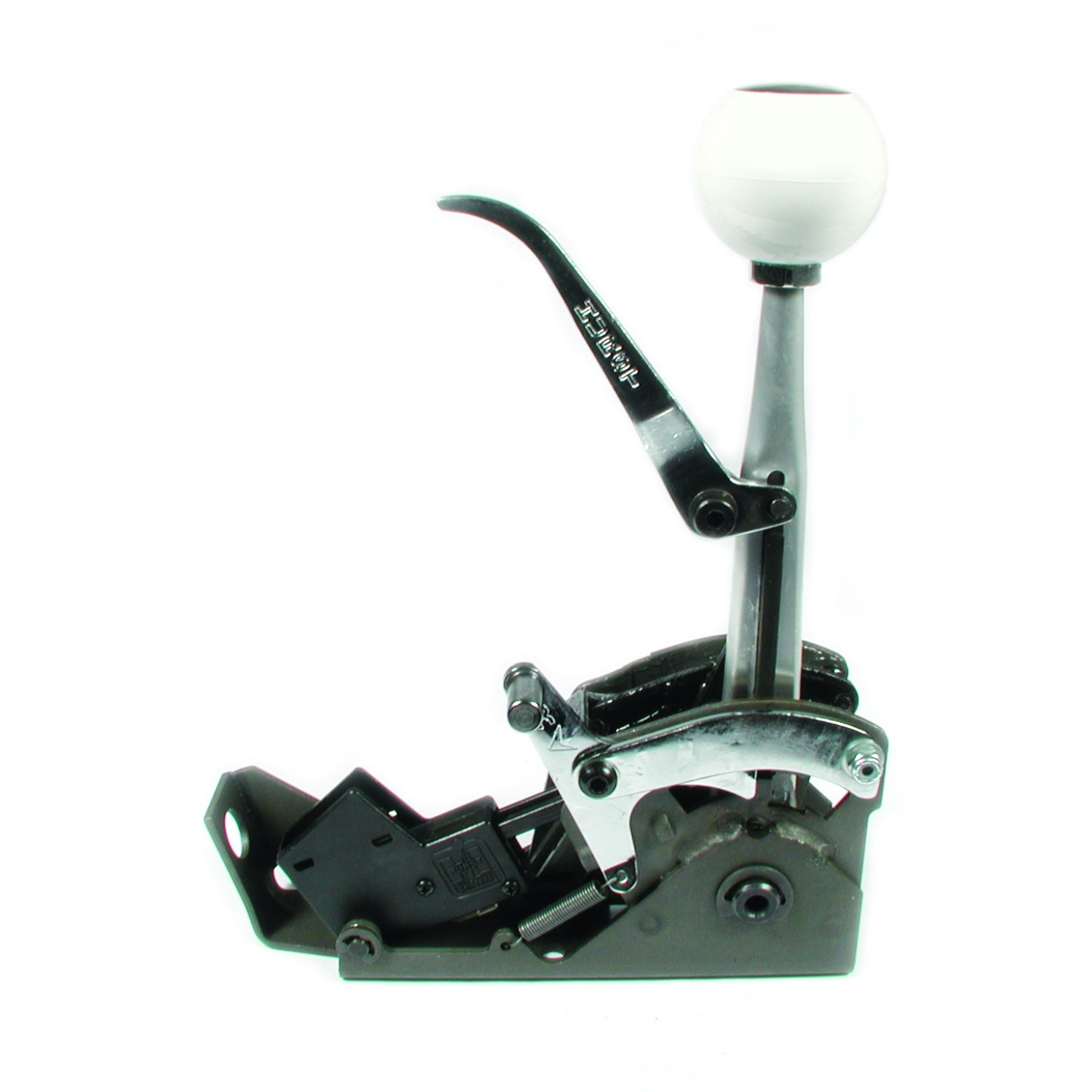 Automatic shifter quarter stick hurst shifters