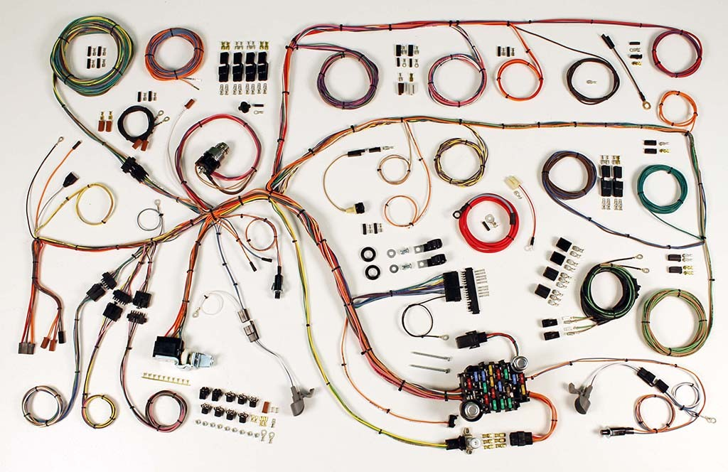 1965 ford falcon complete wiring harness kit 1965 ford. Black Bedroom Furniture Sets. Home Design Ideas