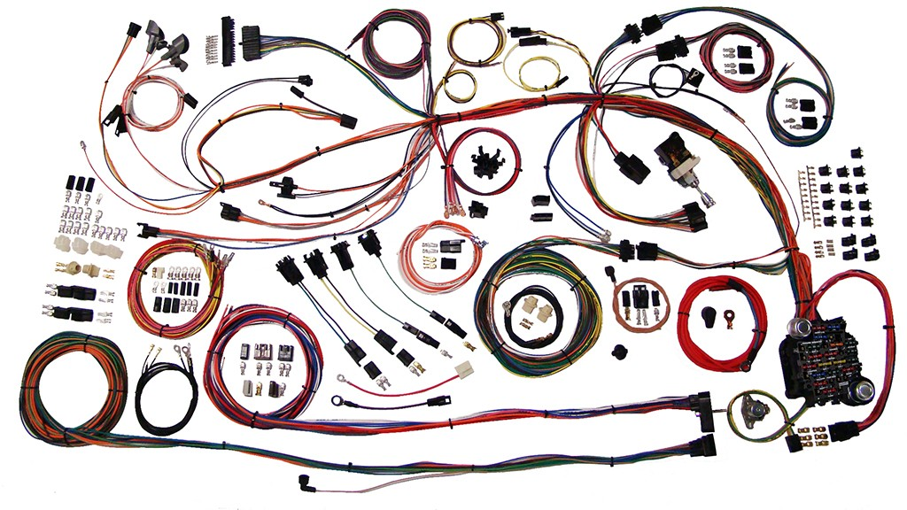 complete wiring harness kit 1968 1969 chevelle part 510158 68 69 chevelle full wire harness 510158_2 el camino wiring harness karmann ghia wiring harness \u2022 free wiring 1986 el camino wiring harness at crackthecode.co