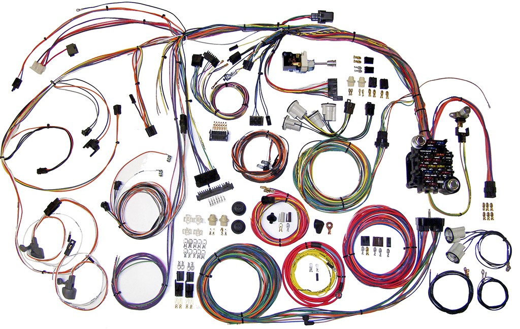 complete wiring harness kit 1970 1972 chevelle part 510105 70 72 chevelle full wire harness 510105_1_2 1970 1972 el camino complete wiring harness kit 1970 1972 el wiring diagram 1970 pontiac lemans at readyjetset.co