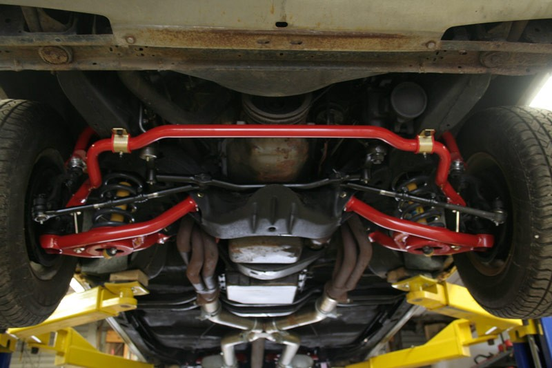 Front Sway Bar >> 64-72 Pontiac Lemans, GTO, Tempest - Front and Rear Sway ...
