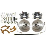 1959-64 Chevy High Performance Disc Brake Kit - MBM DBK5964LX