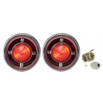 1961 Chevy Impala/ Bel Air/ Biscayne  Led Tail Lights - Dakota Digital LAT-NR161