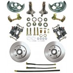 1962-1967 Chevy Nova Disc Brake Kit - MBM DBK6267