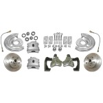 1962-1967 Chevy Nova High Performance Disc Brake Kit - MBM DBK6267LX