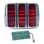 1964 - 1966 Mustang LED Tail Lights - Dakota Digital LAT-NR350
