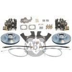 1964-1972 Chevelle Complete Rear Disc Kit - MBM DBK1012