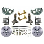 1964-1972 Pontiac Lemans, GTO Disc Brake Kit - MBM DBK6472