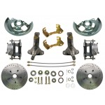 1964-1972 Pontiac Lemans, GTO - High performance Disc Brake Kit - MBM DBK6472LX