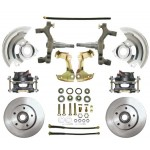 "1964-1972 Pontiac LeMans, GTO, Tempest - 2"" Drop Disc Brake Kit - MBM DBK6472D"