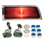 1964 Chevy Chevelle LED Tail Lights - Dakota Digital LAT-NR160