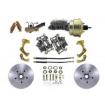 1965-1968 Chevy Impala / Belair Complete Front Disc Brake Conversion Kit - MBM DBK6568 PB-MC-PVK