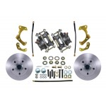 1965-1968 Chevy Impala / Belair Front Disc Brake Conversion Kit - MBM DBK6568