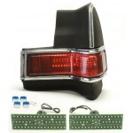 1965 Pontiac GTO LED Tail Lights - Dakota Digital LAT-NR410