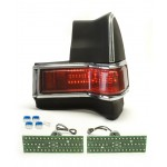 1965 Pontiac Tempest LED Tail Lights - Dakota Digital LAT-NR410