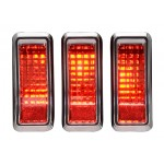 1967 - 1968 Mustang LED Tail Lights - Dakota Digital LAT-NR362