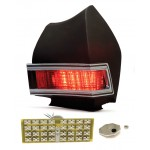 1968 Chevy Chevelle LED Tail Lights - Dakota Digital LAT-NR180