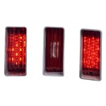 1970 Chevy Impala / Caprice Led Tail Lights - Dakota Digital LAT-NR271