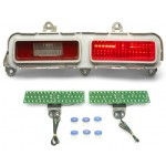 1971 Chevy Belair LED Tail Lights - Dakota Digital LAT-NR390
