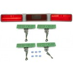 1971 Chevy Impala / Caprice LED Tail Lights - Dakota Digital LAT-NR391