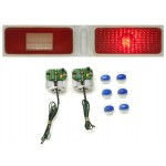 1973-1974 Chevy Nova LED Tail Lights - Dakota Digital LAT-NR380