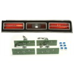1974-1976 Chevy Impala LED Tail Lights - Dakota Digital LAT-NR411