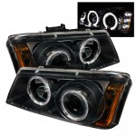 2003-2006 Chevy Silverado Projector Headlights LED Halo