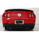 2010-2013 Ford Mustang Letters Emblem, Chrome - DefenderWorx