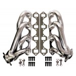"Steel 1986-93 Ford 5.0 Mustang ""SHORTY"" 1-5/8"" Headers- Chrome"