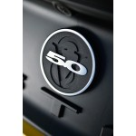 2010-2013 Ford Mustang Rear Trunk Badge Insert, Two-Tone - DefenderWorx