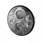 7inch Universal Round Projector LED Headlights - Black
