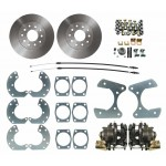 "Ford 9"" Rear-End Universal Disc Brake Kit - MBM DBK9"