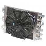 Heavy Duty Dual Circuit Oil Cooler / Electric Fan - Maxi-Cool