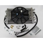 Heavy Duty Transmission Cooler/Electric Fan Kit for Diesel applications