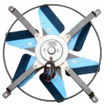 "High Perf. Electric Fan, (12"") 3300 CFM"