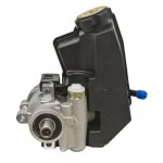 Aluminum Type ll Power Steering Pump With Plastic Reservoir - Polished