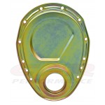 Steel 1955-95 Chevy Sb 283-305-327-350-400 Timing Chain Cover - Zinc