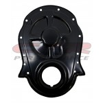 Steel 1966-90 Chevy Bb 396-402-427-454 Timing Chain Cover - Black