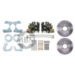 "Mopar 8 3/4"" Rear End High Performance Disc Brake Kit - MBM DBK834LX"