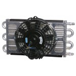 "6-pass Oil Cooler Coil & 8"" Electric Fan Assembly - Maxi-Cool Jr."