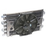 Six Pass Oil Cooler / Fan Assembly - Maxi-Cool