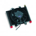 Oil Cooler / Transmission Cooler with Fan