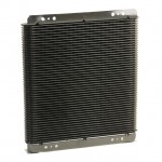 Oil Cooler / Transmission Cooler Supercooler Large - Black