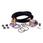 Oil Filter Relocation System (single) - Universal