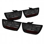 2010-13 Camaro LED Tail Lights - Smoke
