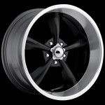 Streeter Black 20x9.5 - Show Wheels
