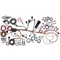 1964-1967 chevelle wiring harness kit - chevelle wiring - part# 500981 -  complete wiring kit