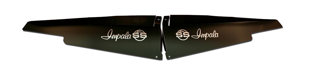 "1963 Impala Anodized Show Panel with ""SS Logo"" Engraved"