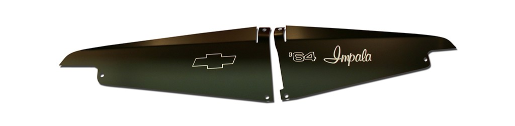 "1964 Impala Anodized Show Panel with ""64 Impala"" Engraved"
