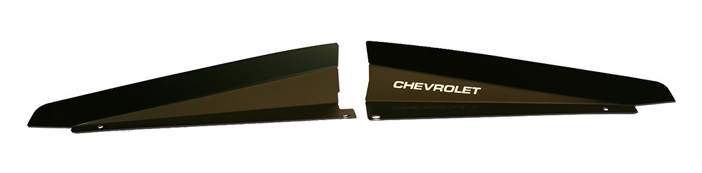 "1966 Chevelle Show Panel with ""Chevrolet"" engraved"